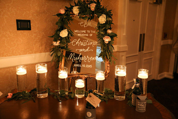 Wedding Sign Mirror - Keith Cephus Photography