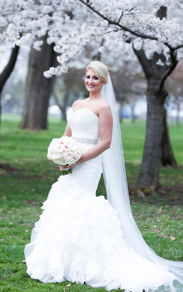 wedding dress -Keith Cephus Photography