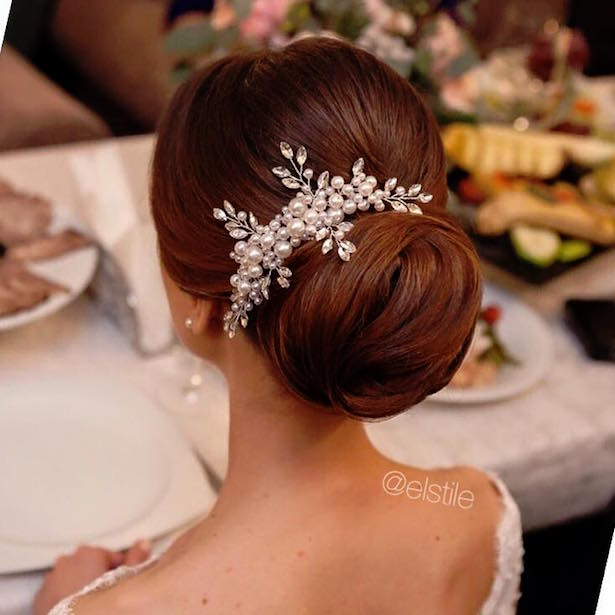 20 gorgeous wedding hairstyles belle the magazine wedding hairstyle via el style junglespirit Image collections