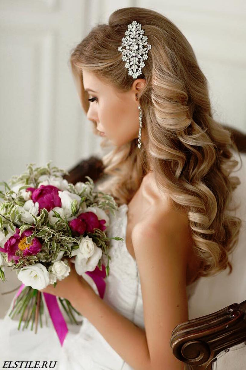 20 gorgeous wedding hairstyles belle the magazine 20 gorgeous wedding hairstyles junglespirit Image collections