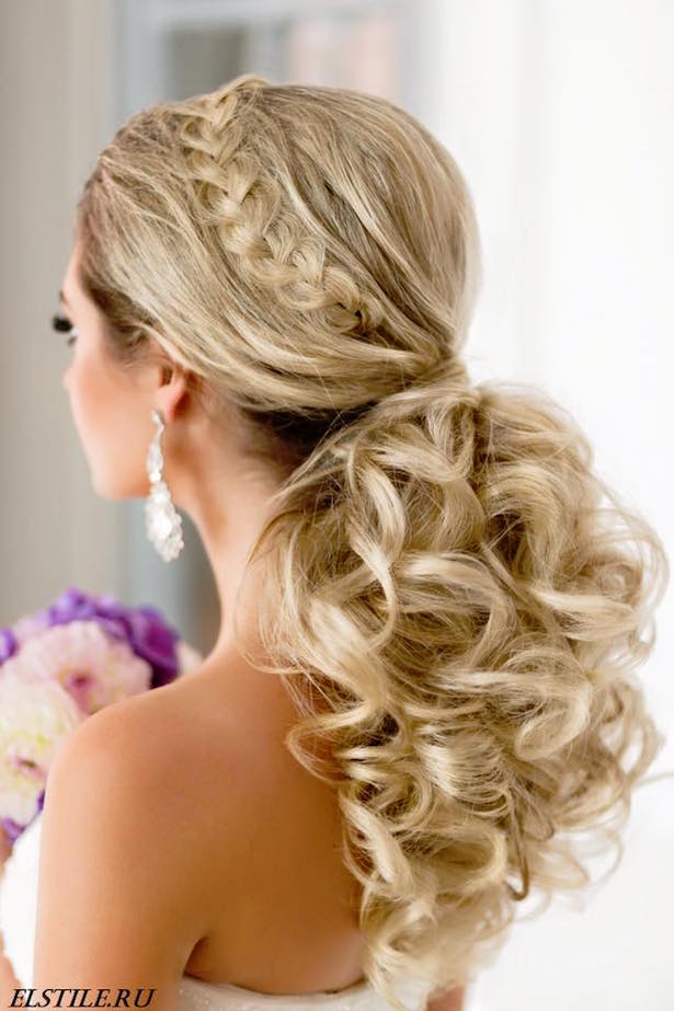 20 gorgeous wedding hairstyles belle the magazine wedding hairstyle via el style pmusecretfo Image collections