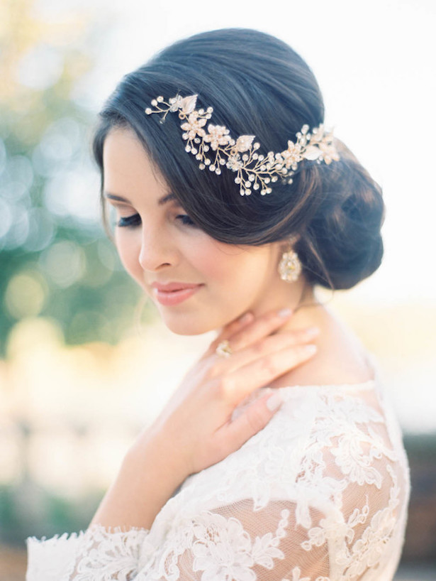 Wedding Hairstyle - Kristin La Voie Photography