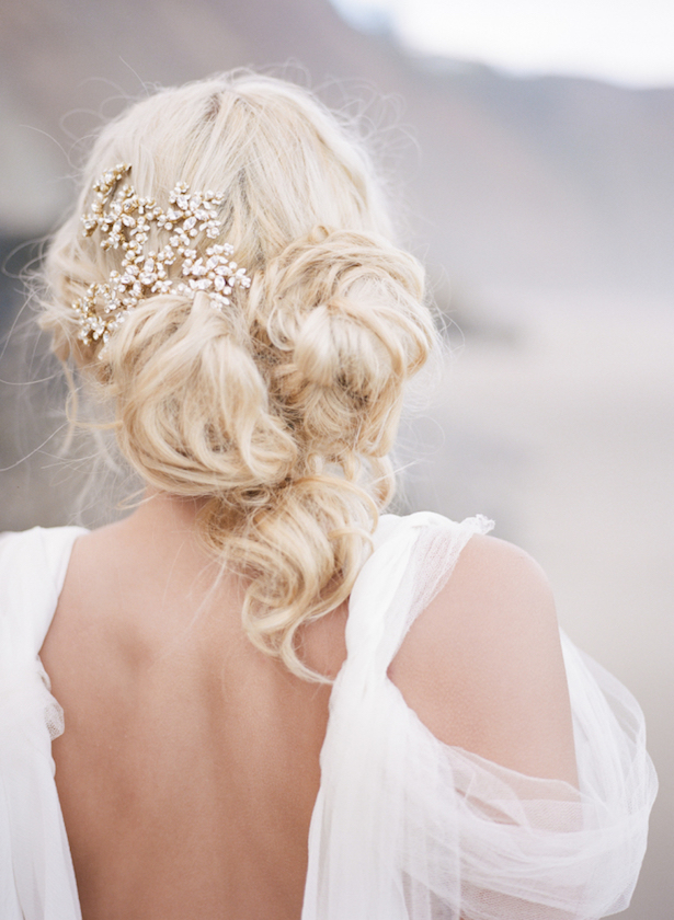 Wedding Hairstyle - Photography:vKoby & Terilyn Brown of Archetype