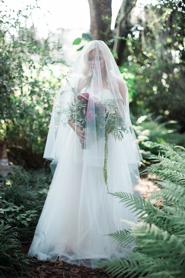 Wedding veil - Kaylie Nicole Photography