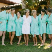 Bridesmaid Robes - Bluespark Photography