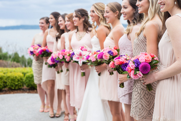 Bridesmaid netrual dresses - Laura Elizabeth