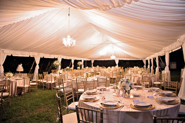 Elegant Tented Wedding - Kristen Weaver Photography