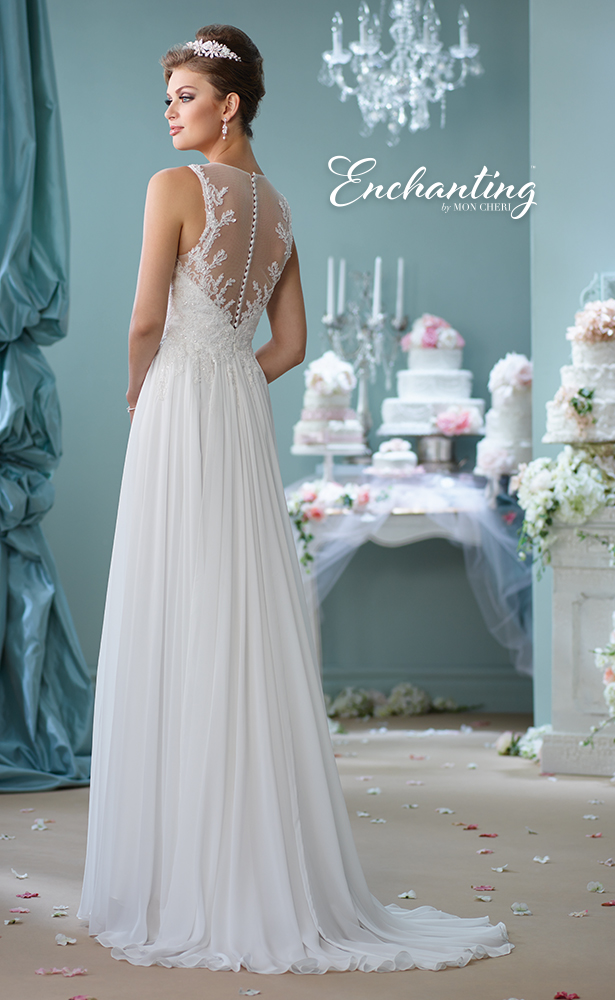 Encahnting by Mon Cheri Wedding Dress Style 116127