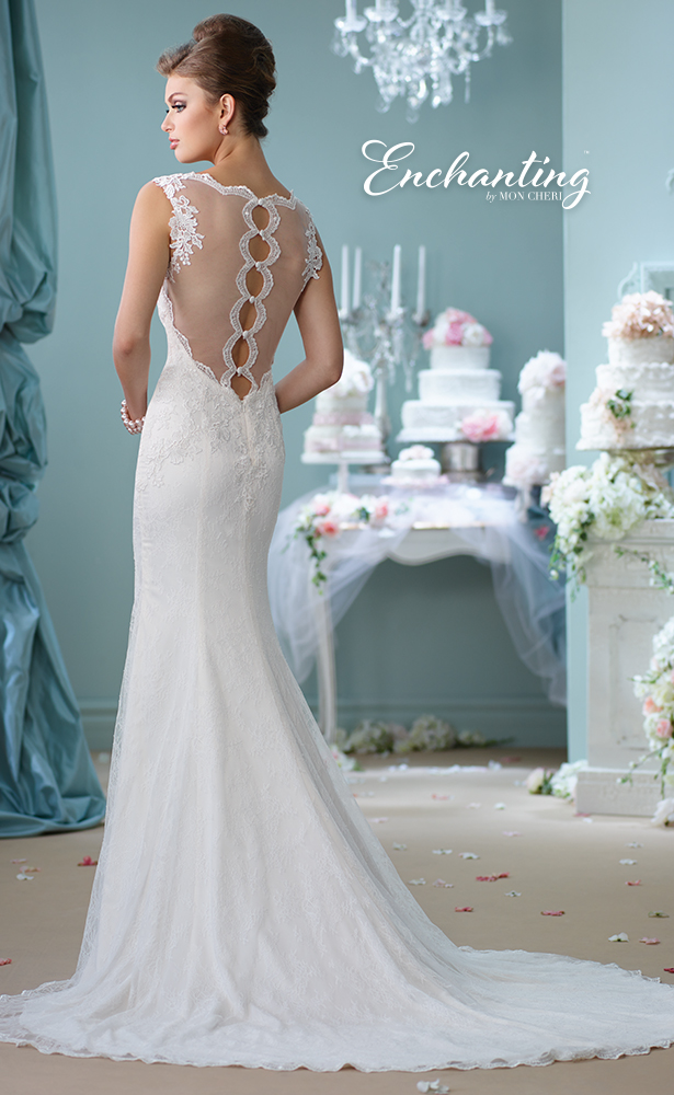 Encahnting by Mon Cheri Wedding Dress Style 116132