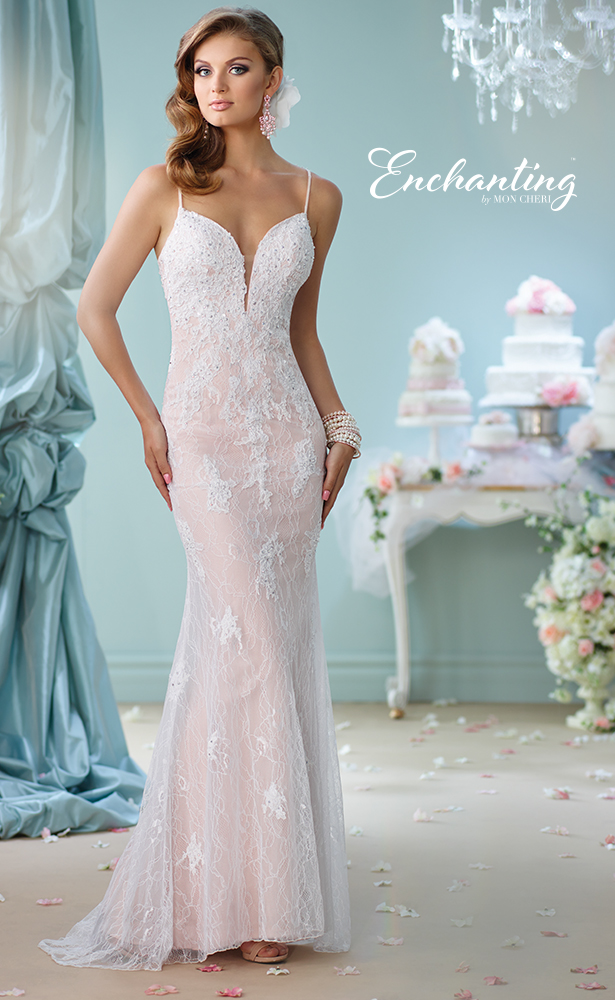 Encahnting by Mon Cheri Wedding Dress Style 116144