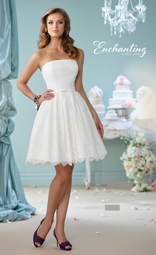 Encahnting by Mon Cheri Wedding Dress Style 116122