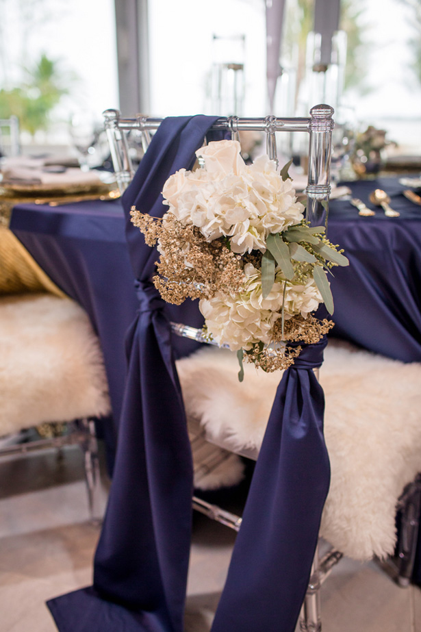 Floral wedding decorations -Stacy Anderson Photography