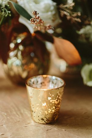 Gold wedding candle - Blue Bend Photography