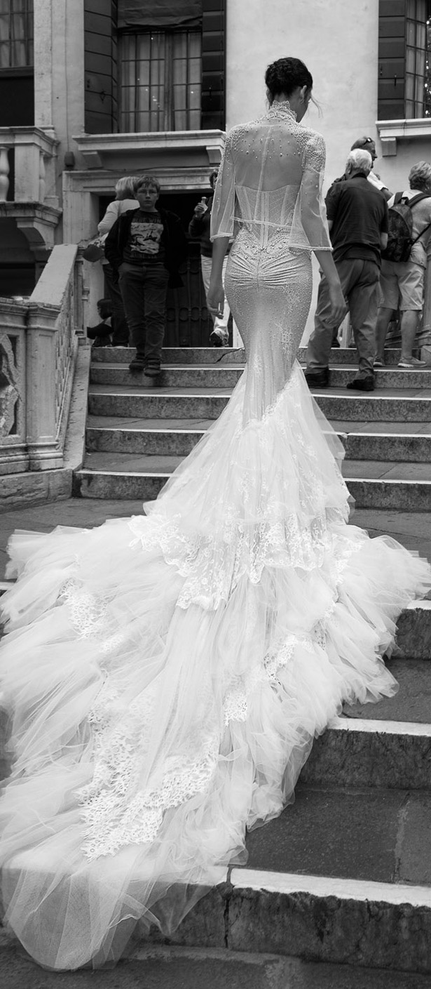 Meghan Markle's Wedding Dress - Inbal Dror 2015 Bridal Collection