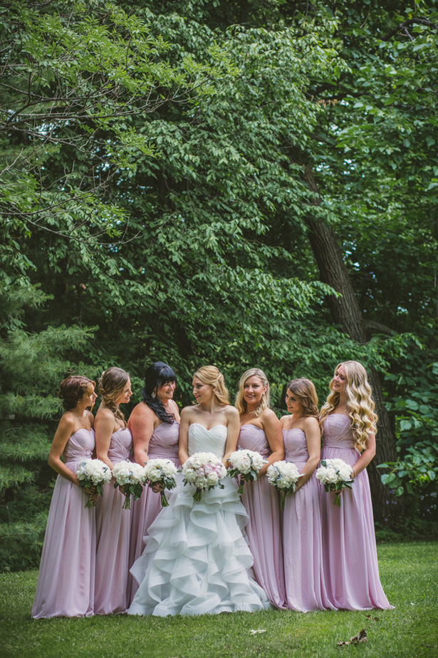 Lavender bridesmaid dresses - Ten·2·Ten Photography
