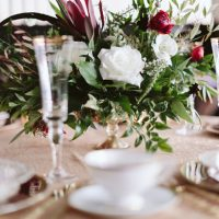 Place setting - Blue Bend Photography