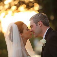 Romantic wedding photo - Benfield Photography