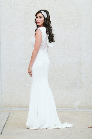 Sophisticated bride-Blue Bend Photography