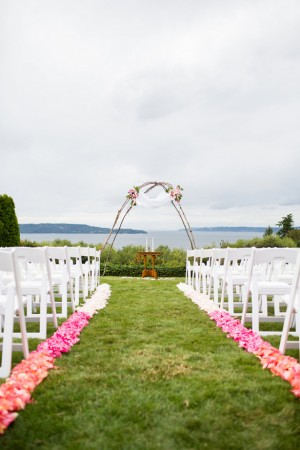 Wedding aisle - Laura Elizabeth