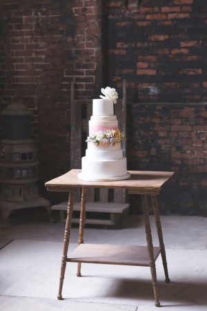 Wedding Cake - Kim Spath Photography