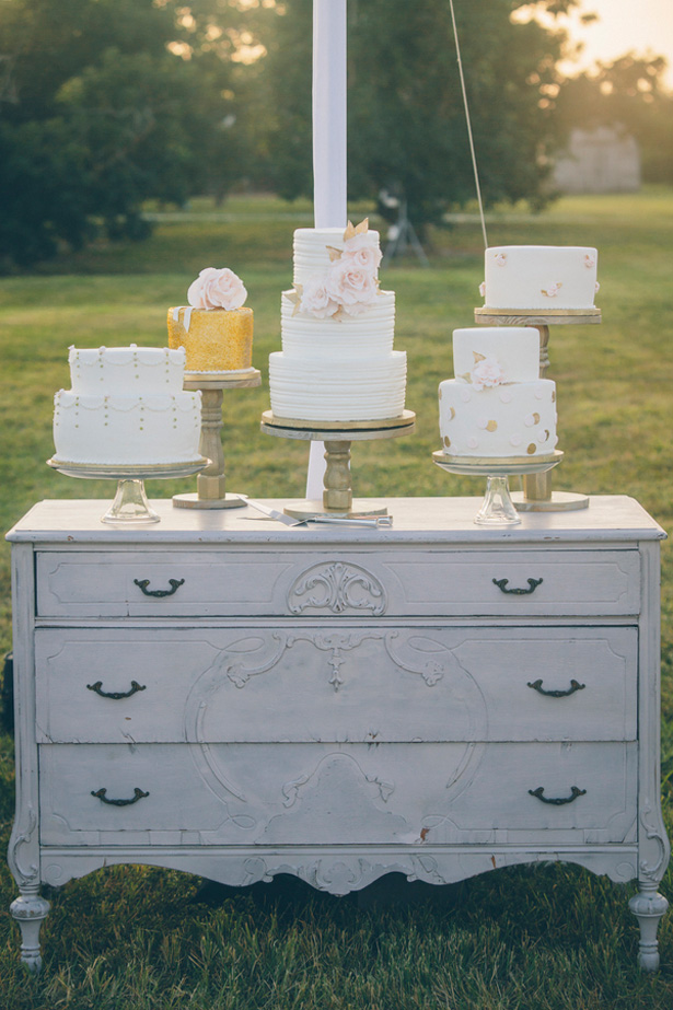 Wedding cake table - Kane and Social
