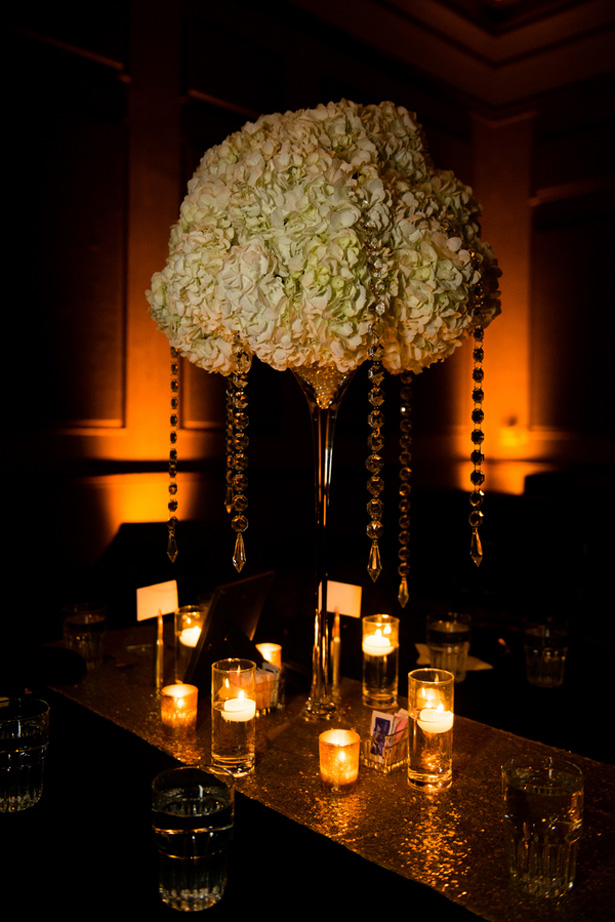 Wedding centerpiece - Shawna Hinkel Photography