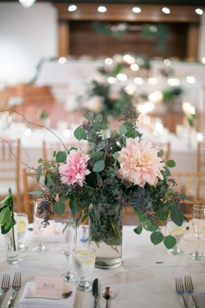 Wedding floral centerpiece - Watson Studios