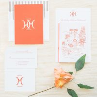 Wedding invitations - Blaine Siesser Photography