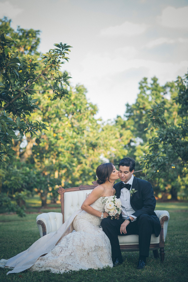 Chic Vintage Florida Wedding