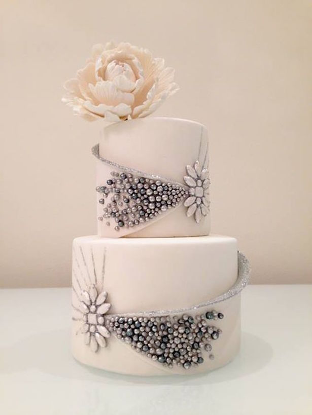 Winter Wedding Cake - by White Cakery Co