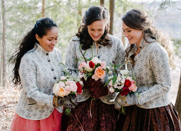 Winter Bridesmaids - Luv Lens