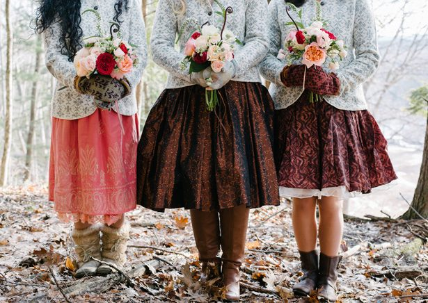 Winter Bridesmaid Ideas - Luv Lens