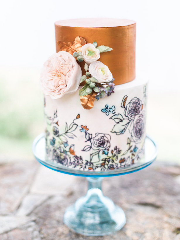{By Cake By Annie, Photo: Christine Pienaar Photographyvia Style Me Pretty}