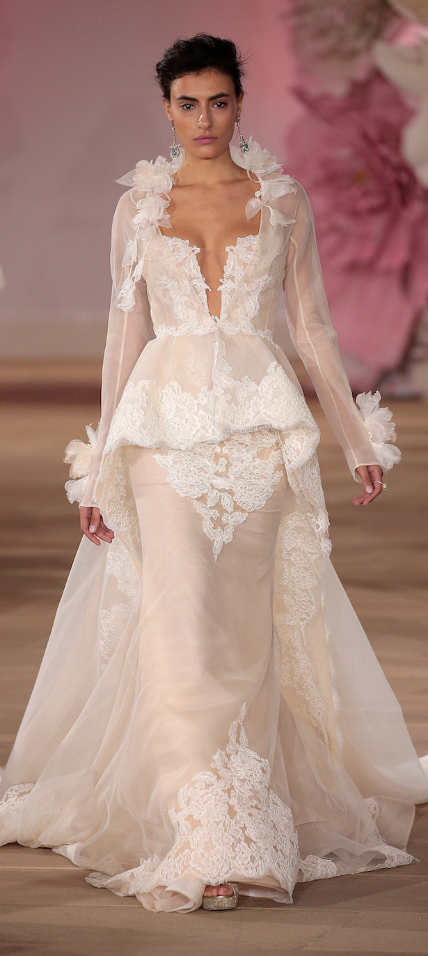 Ines Di Santo Bridal Collection Spring 2017 - Runway