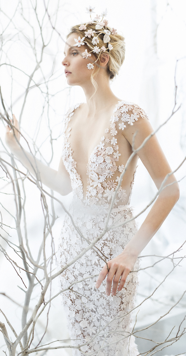 Mira Zwillinger Spring 2017 Bridal Collection – Whispher Of Blossom