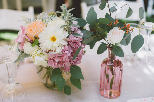 Small Wedding centerpiece - Adriane White Photography