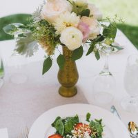 Wedding food - Adriane White Photography