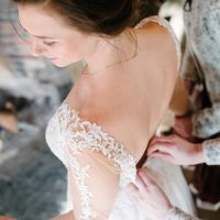 Lace Wedding Dress - Luv Lens