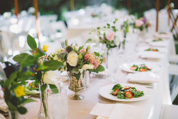 Wedding table escape - Adriane White Photography
