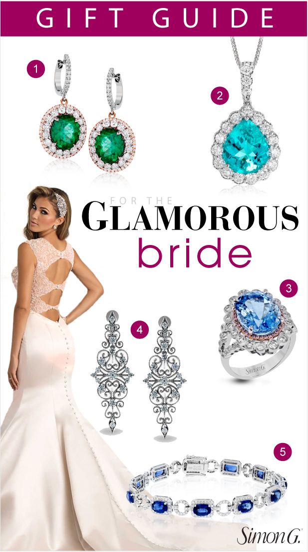 Jewelry Gift Guide for Every Type of Bride