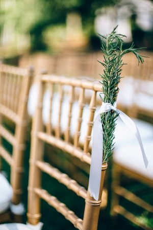 Aisle details - Sowing Clover Photography