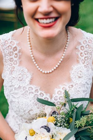 Bridal jewelry - Sowing Clover Photography