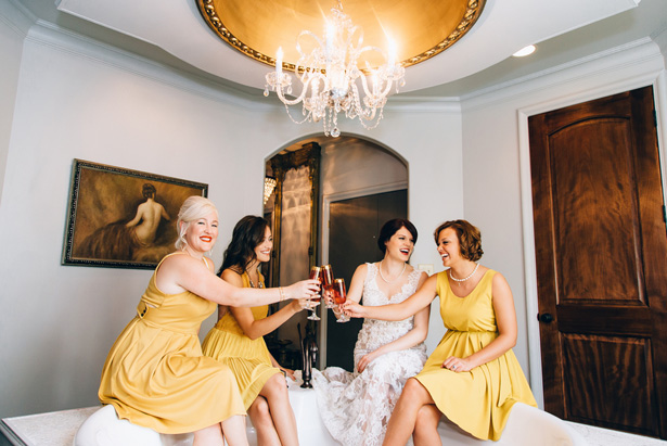 Bridal party photo ideas - Sowing Clover Photography