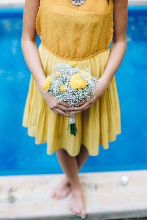 Bridesmaid bouquet - Sowing Clover Photography