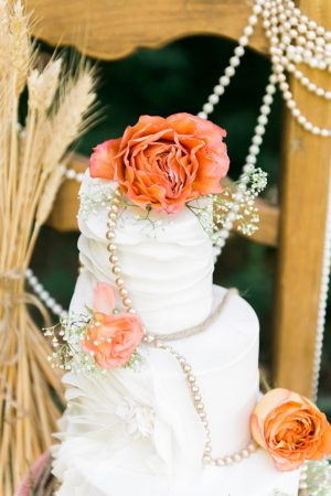 Cake details - L'Estelle Photography