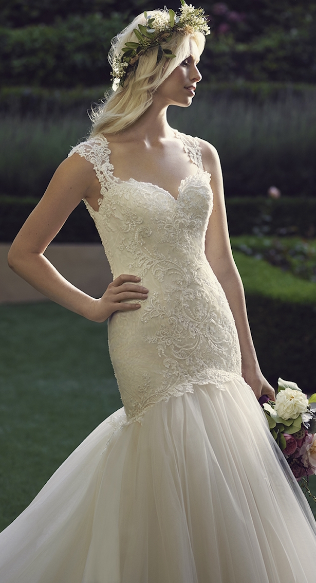 Casablanca Spring 2016 Wedding DressCasablanca Spring 2016 Wedding Dress