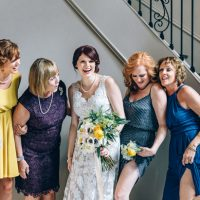 Fun wedding picture - Sowing Clover Photography