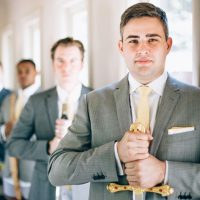Groomsmen photo idea - Sowing Clover Photography
