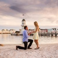 Love in Orlando | A Surprise Proposal - Lotus Eyes Photography