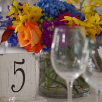 Table number - Jack Looney Photography